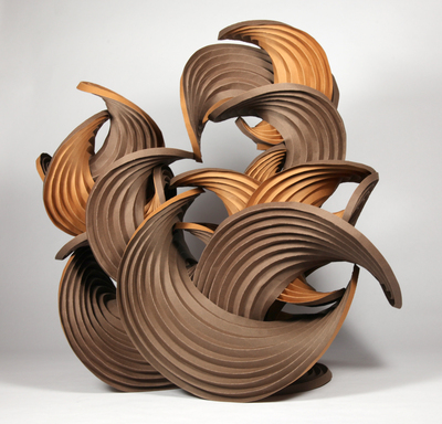 Ambiguously Curved Sculptures : Sophie-elizabeth Thompson
