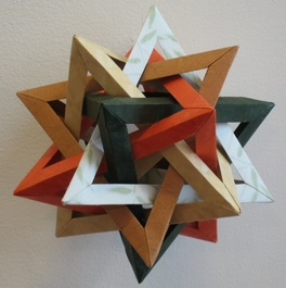 Origami art & 3D shapes – Life Through A Mathematician's Eyes | 265x264